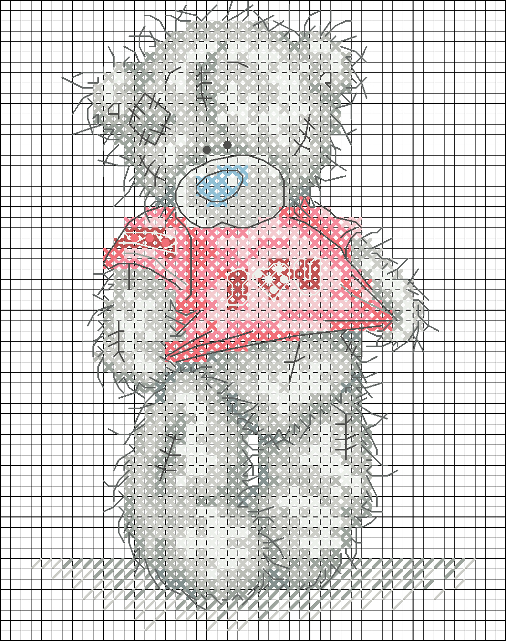 Images about tatty teddy cross stitch on pinterest