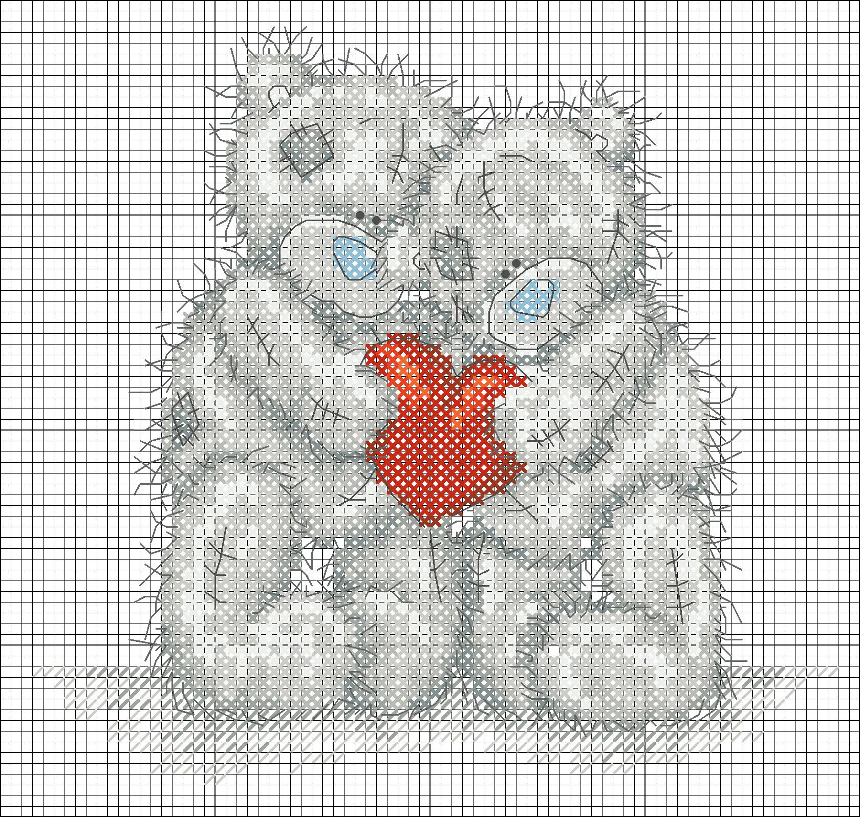Скачать схемы вышивки крестом о любви