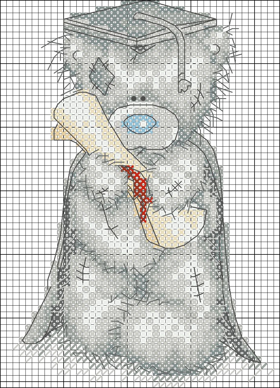 Вышивка медвежонок тедди схемы Мишки Тедди - Детям - Схемы в XSD - Кладовочка схем